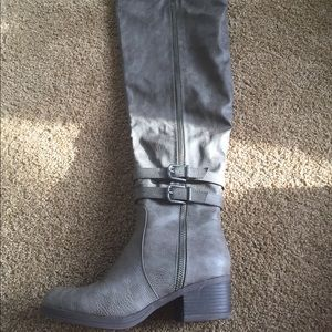 JustFab Anvy Thigh High Boots